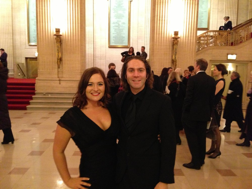 Un ballo in maschera, our first trip to the Lyric Opera in Chicago.