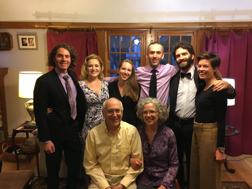 The Beder clan at Pesach