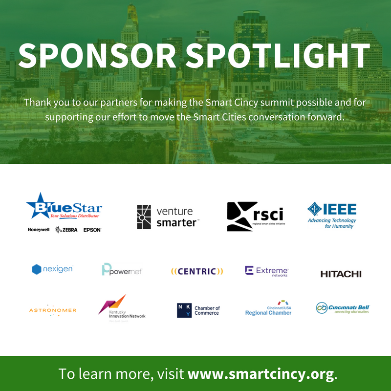 Smart Cincy Summit Spring 2017 Sponsors