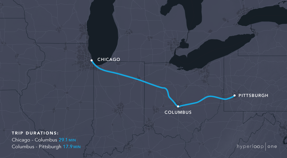 Columbus Ohio Hyperloop