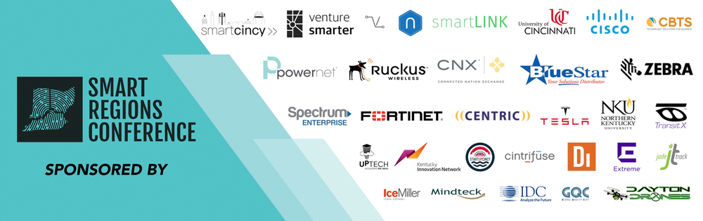 Follow @VentureSmarter #SmartRegions -  Special thanks to our sponsors and friends for making the nation's first #SmartRegions Conference a success!