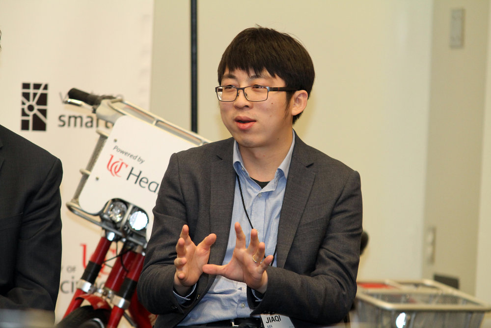 Jiaqui Ma, discusses the University of Cincinnati's efforts related to advanced and autonomous transportation systems.