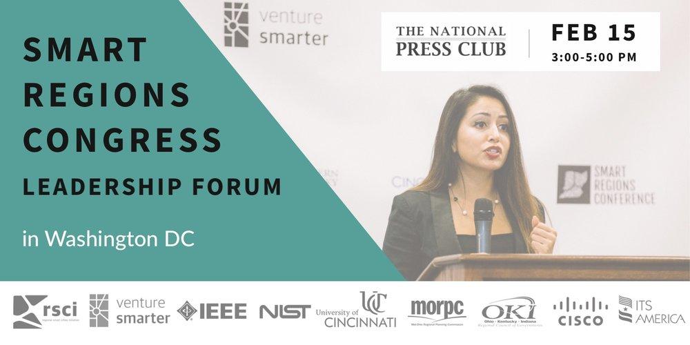 Smart Regions Congress 2018, Washington DC