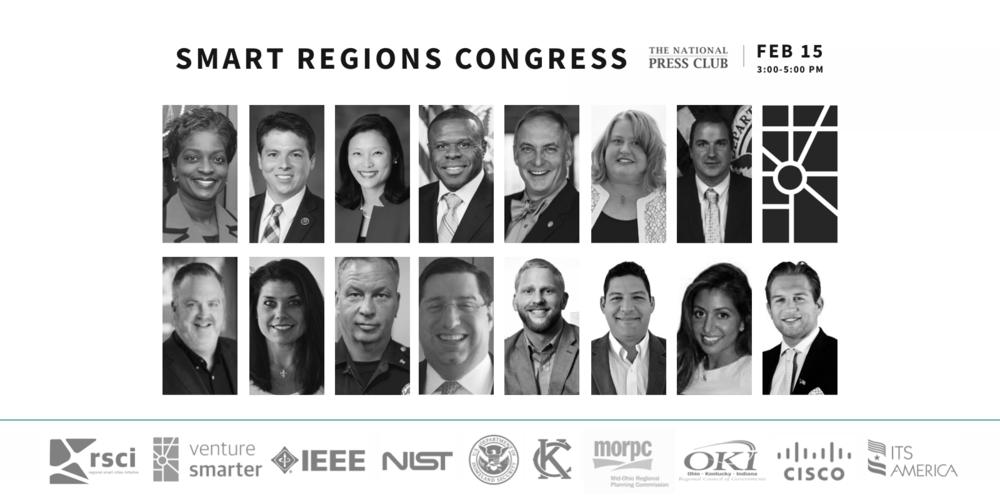 Smart Regions Congress Sponsors + Participants