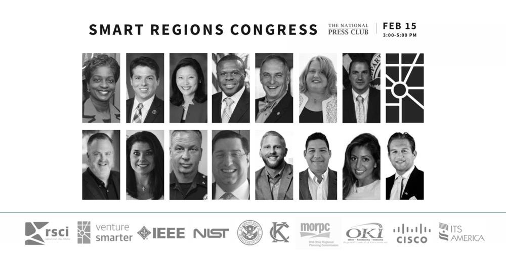 Smart Regions Congress Sponsors + Participants