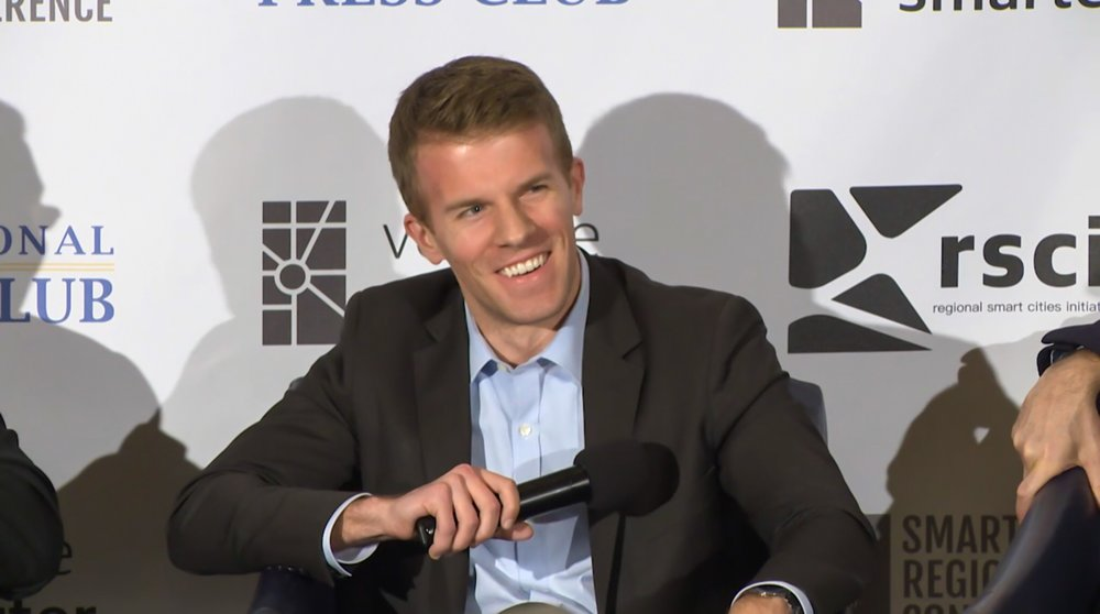 Uber's Dave Barmore talks about 'expanding public transit' and 'shared mobility'