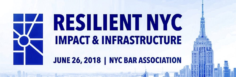 Resilient NYC - Impact and Infrastructure Summit - Venture Smarter