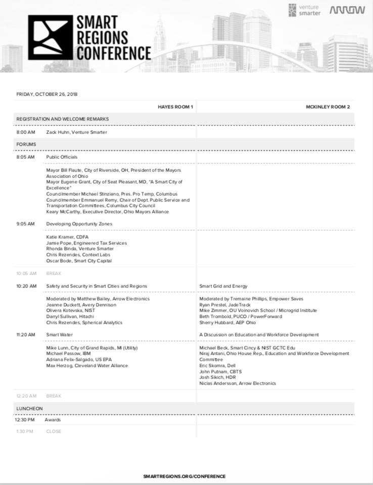 EVENT DETAILS + AGENDA - [PDF]