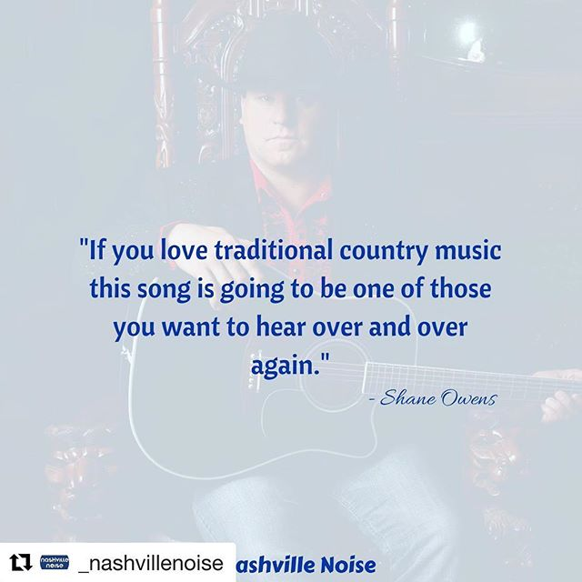 Thank you @_nashvillenoise everyone make sure and follow them! ・・・ Find out what song #ShaneOwens is talking about at the #linkinbio. We've got a great exclusive video clip of him discussing the track! #ItsASouthernThing #WorkingMan #countrymusic #country #nashville #nashvillenoise