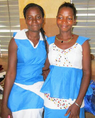 Thriving Tailor Vocational Programme students, Burkina Faso