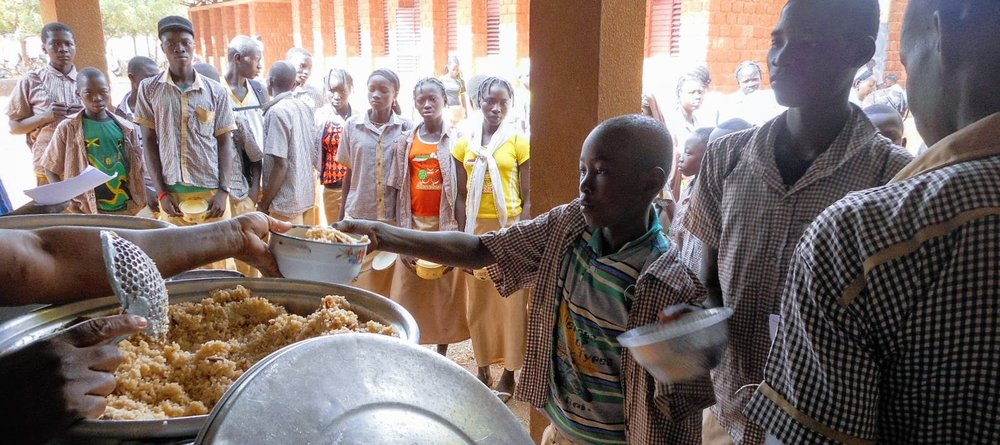 Burkina Faso Food for Thought programme, Bethel School