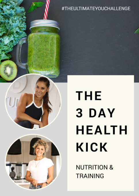 THE 3 DAY HEALTH KICK - Are you looking to reset your body and get yourself out of the winter blues and ready for Spring??Alice Jane, PT and I have developed something just for you.  It is a 3 day full body kick start or detox, but not the kind where you don't just drink juices.  Subscribe on the form below and you'll get the plan for FREE in your inbox!!