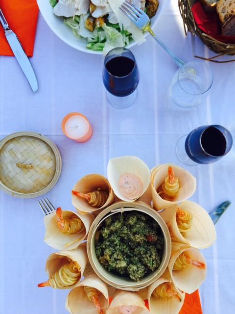 Restaurant La Terrazza de l'Orangerie / ©Photo: Rosepoudree