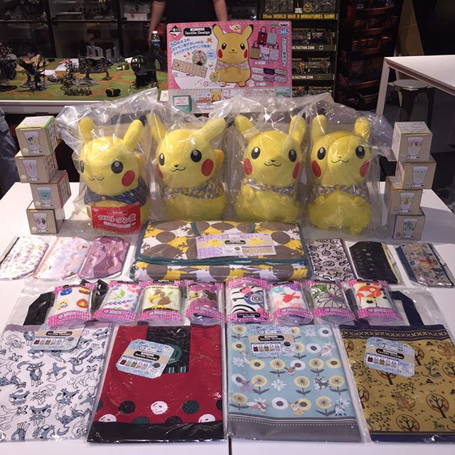 It's the day after Christmas and guess what, the festive mood still lingers on! If you're feeling lucky, you're in for a treat!  Presenting to you the -NEW KUJI- POKÉMON: TEXTILE DESIGN which is available for sale today! So many prizes and plushies to win, come bring them home, whilst stocks lasts!  #pokemonkuji #pokemon #ichibankuji #kuji #pokemontextiledesign