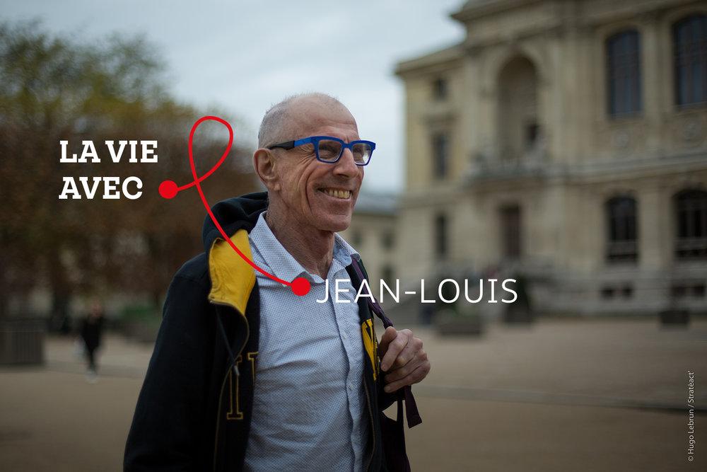 """""""La maladie fragilise, précarise, isole, exclut."""" - Jean-Louis, personne vivant avec le VIH et bénévole"""