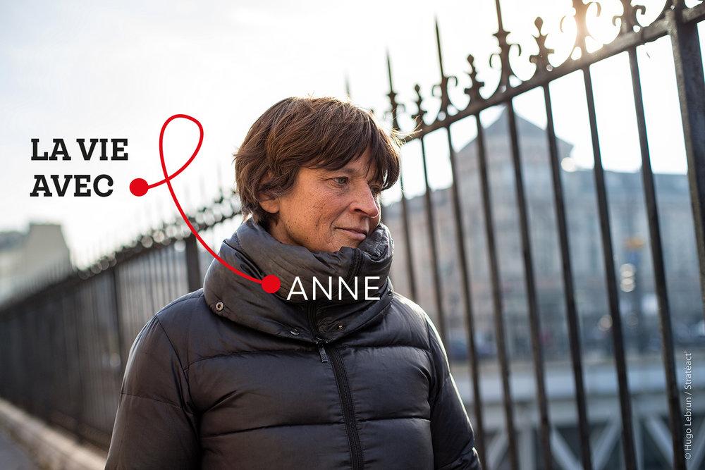 """""""C'est une vraie amitié, au-delà de la maladie"""" - Anne, proche d'une personne vivant avec le VIH"""