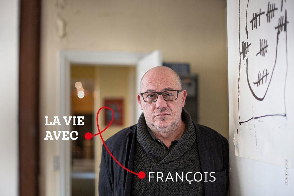 """""""La prison est dangereuse pour tout le monde, encore plus pour les personnes séropositives"""" - François, coordinateur au sein de l'Observatoire International des Prisons"""