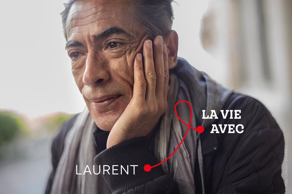 « Plus on parle simplement et naturellement, plus on se sent à l'aise avec ça, et meilleure est son estime de soi. » Laurent, personne vivant avec le VIH et bénévole.