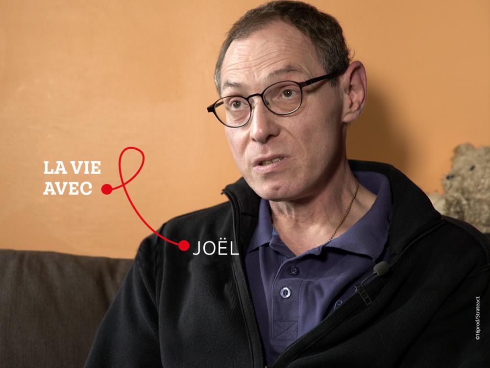 """""""Il ne faut pas se dire que la bataille est gagnée, la guerre encore moins. On meurt encore du sida. Il faut absolument continuer le combat."""" - Joël, personne vivant avec le VIH."""
