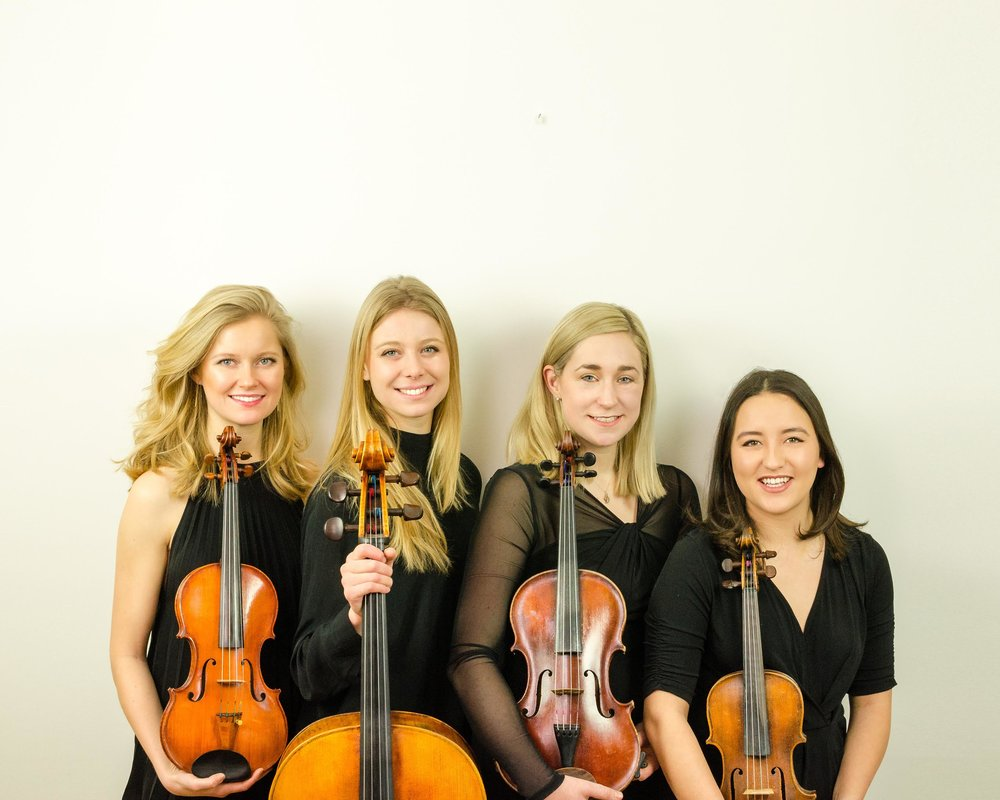 Chiswell Strings String Quartet for Weddings, Events and Parties.
