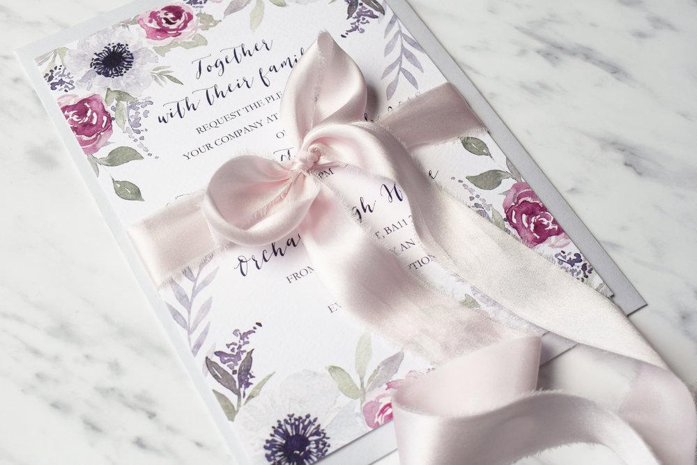 Secret Garden invite with silk bow.jpg
