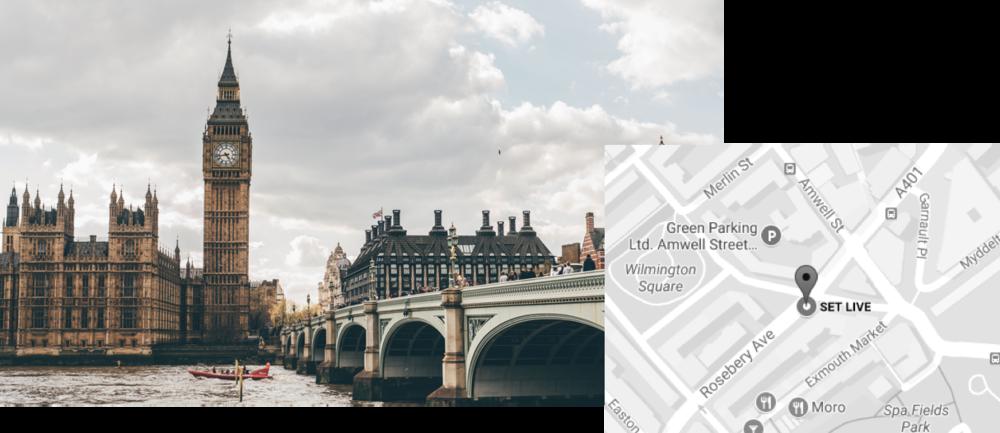 EUROPEThe Market Building 72-82Rosebery Avenue, Floor 3EC1R 4RW, London, UKJon ReidClient DirectorT. +44.20.7253.8167jon.reid@setcreative.com -