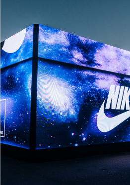 CELEBRATING US OLYMPIC BASKETBALL WITH THE NIKE SNKRS BOX.