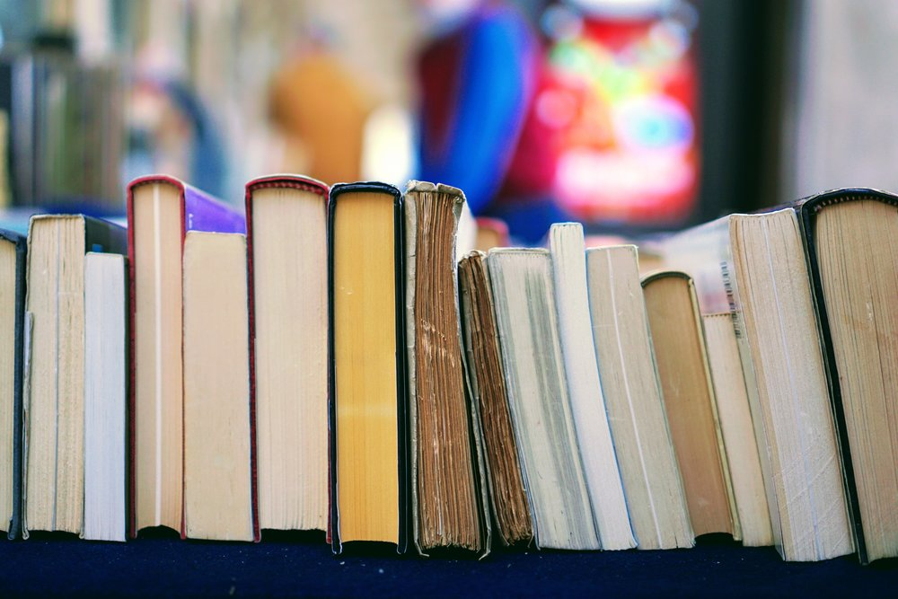 A stack of books to further personalized, lifelong learning.