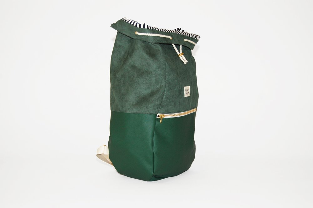 KALIBER FASHION   RUCKSACK,  LOVE & SOUL, GREEN  €98