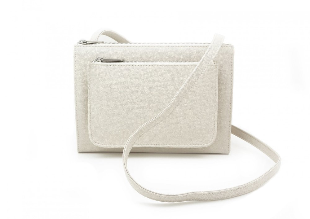DENISE ROOBOL  CITY BAG, CREME STRIPE  €119,95