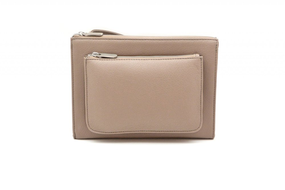 DENISE ROOBOL  CITY BAG, CAPPUCCINO  €105