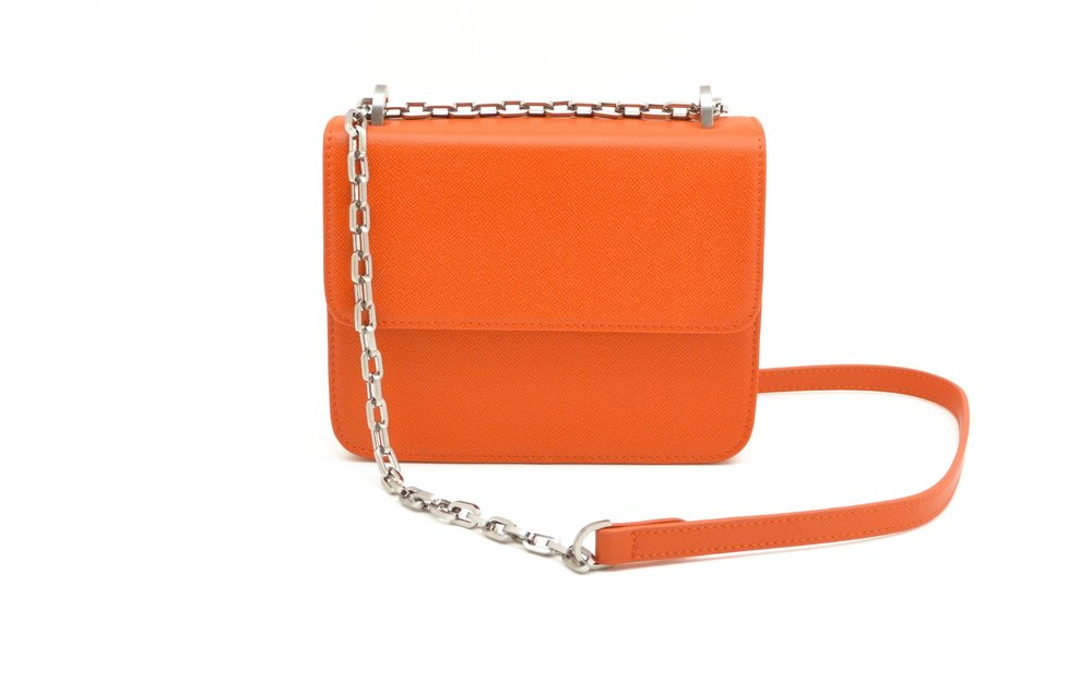DENISE ROOBOL  MINI CRUISE BAG, ORANGE STRIPE  €135