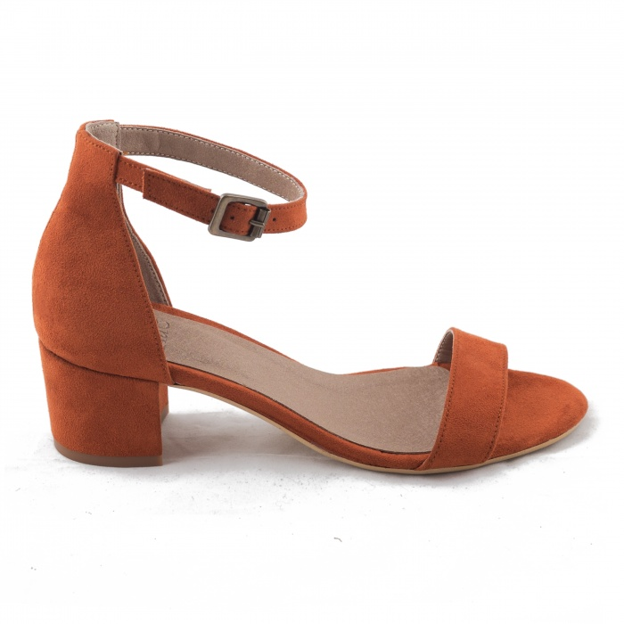 Nae  Nae Irene Orange Sandal  €89