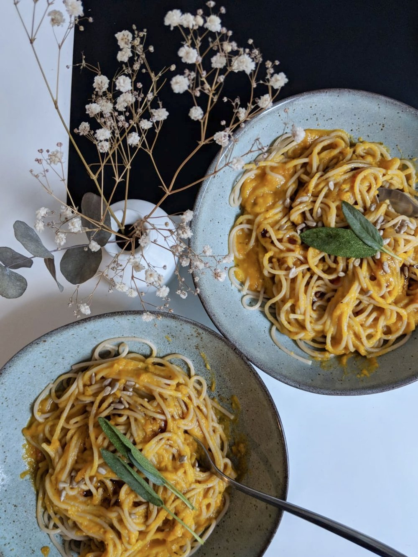 Vegan pumpkin pasta recipe