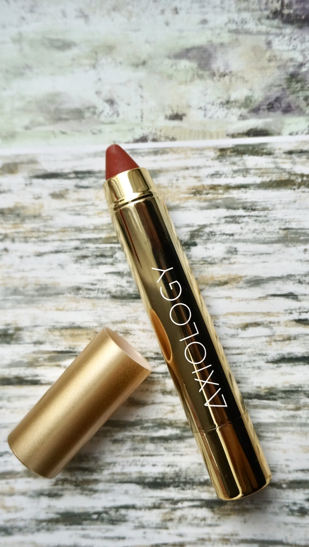 "3. AXIOLOGY Lip Crayon - I personally support the brand first for the value and ethics and then the products. In the words of the founder, Ericka Rodriguez- ""Makeup shouldn't just be safe for the people who wear it. It should also be safe for animals, the planet and the people who make it."" Rightly said, beauty cannot be created by hurting the planet.Axiology lip crayons are 100% vegan and only use ten ingredients, which are listed on their website. Expect a a semi-matt finish and a 60s color vibe.€26"