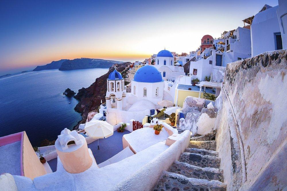 Santorini Greece minimoon destination honeymoon