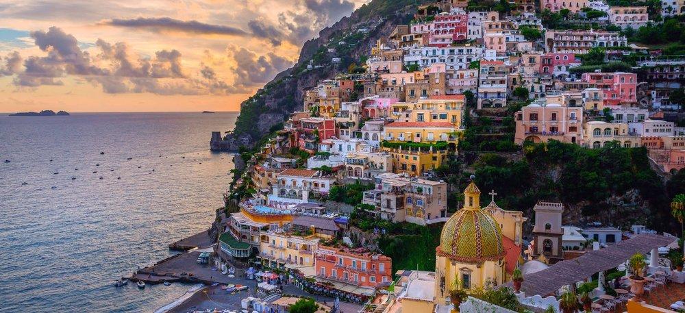 Amalfi Coast Positano Italy Minimoon Honeymoon