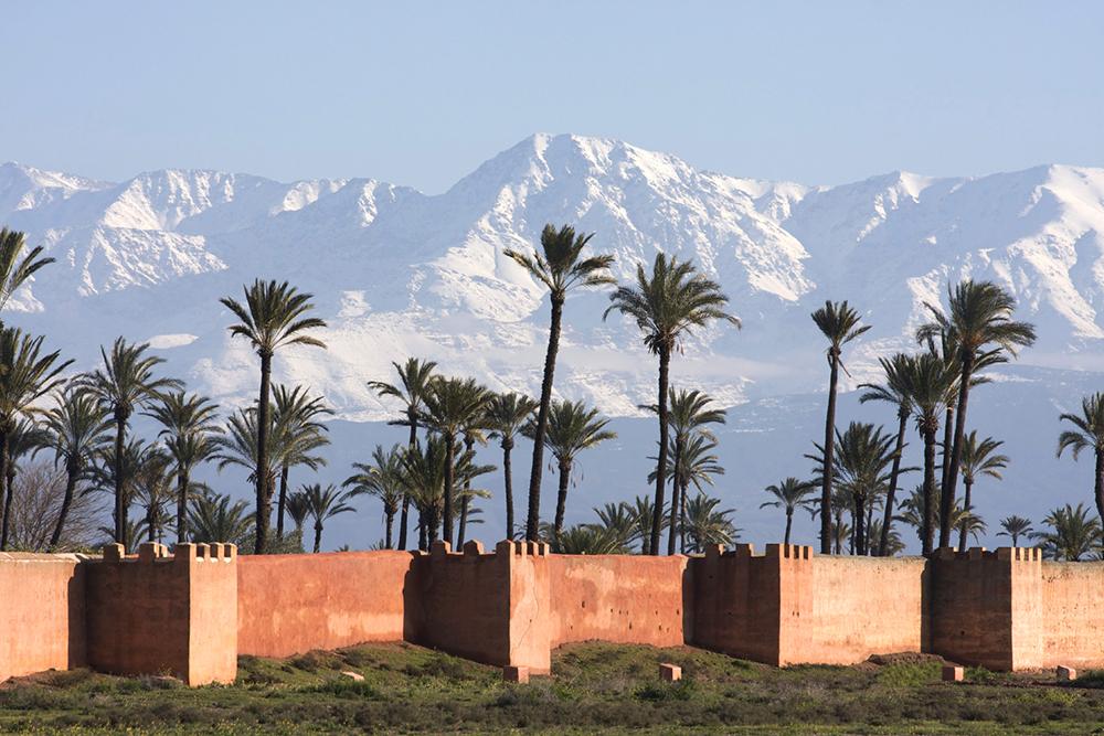 Marrakech Morocco minimoon honeymoon