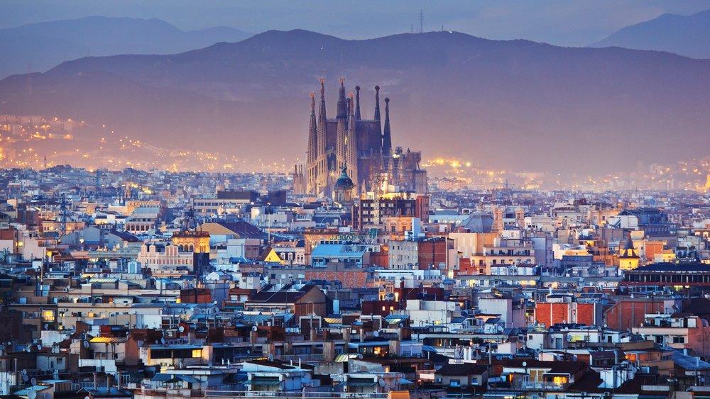 Barcelona Spain minimoon honeymoon
