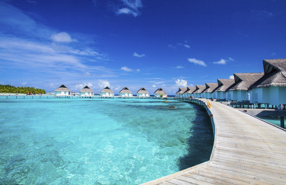 Maldives Honeymoon Beach
