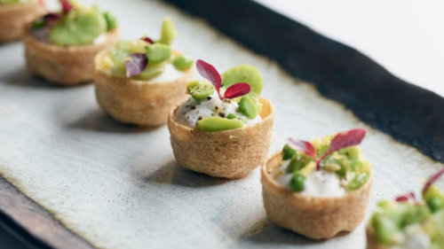 buffalo ricotta croustade Wedding Party Canapé