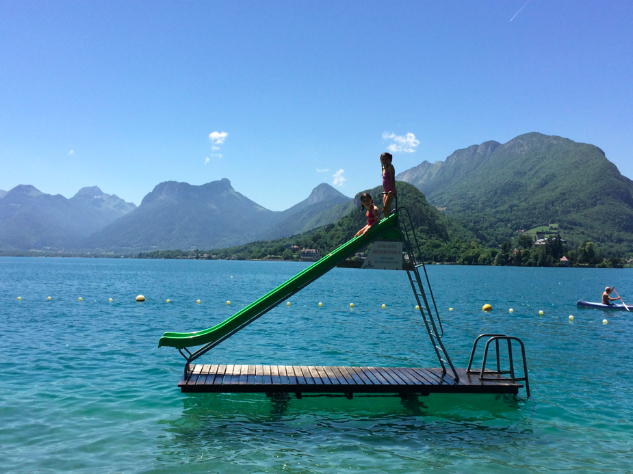 Family favorites in Lake Annecy France