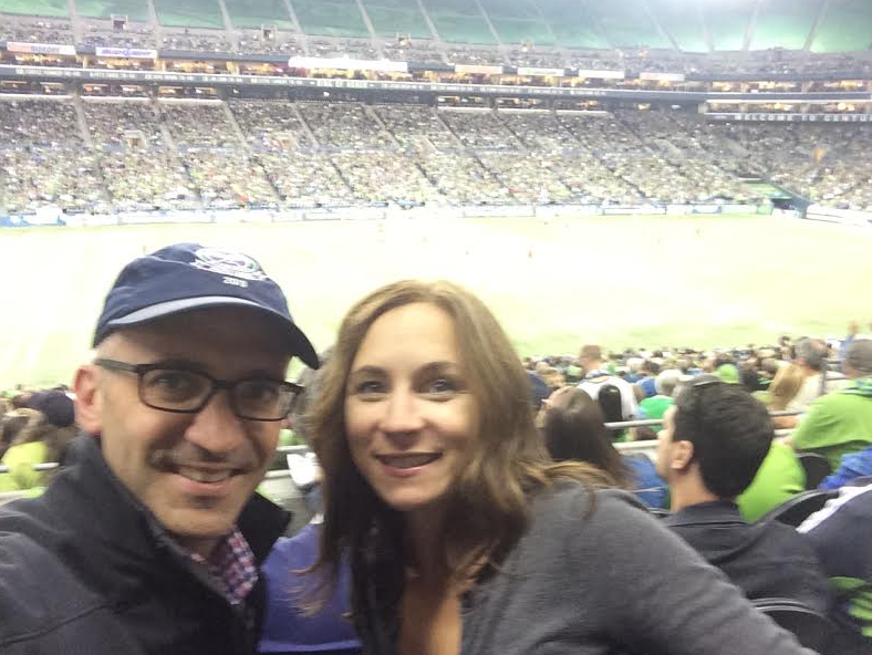 date night - go sounders!