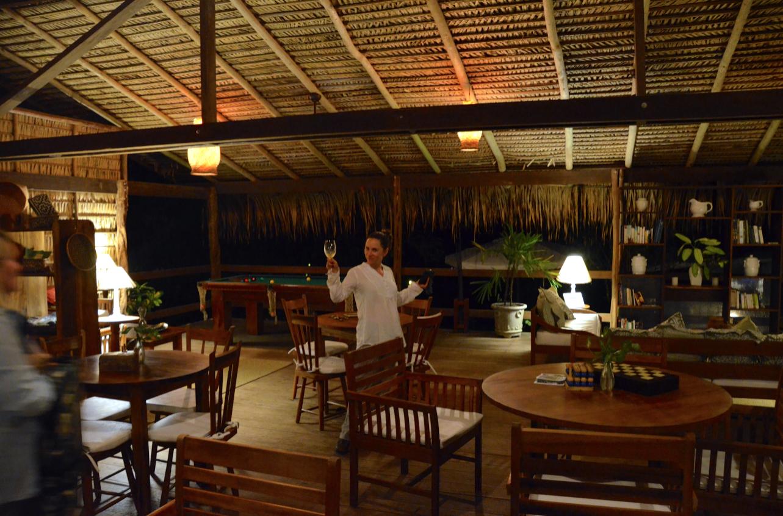 the lodge of Anavilhanas jungle lodge