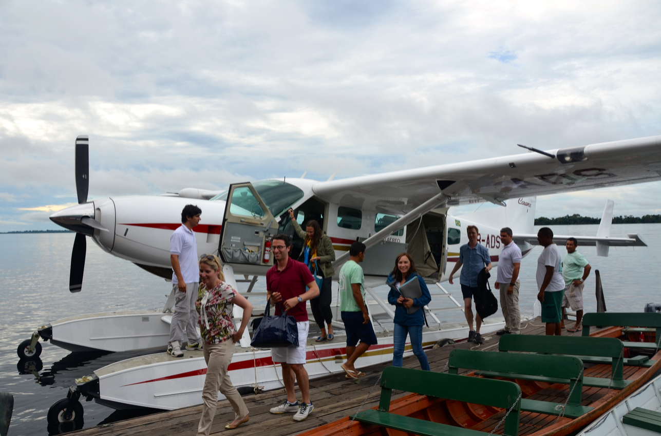 Float Plane at Anavilhanas Lodge