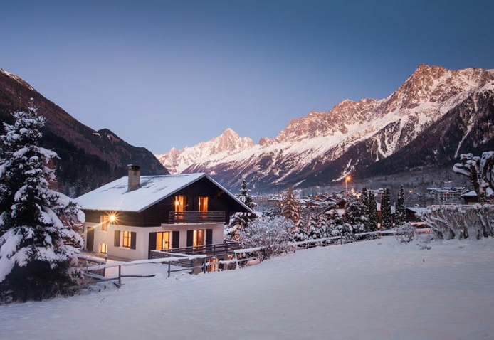 4 Bedroom Chalet on the Piste at Les Houches