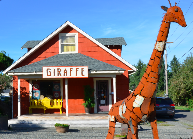 Giraffe Boutique on Vashon Island