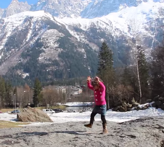 Happy and silly: Chamonix on YouTube
