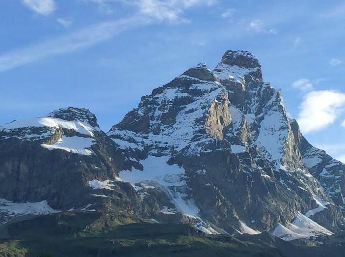 The Matterhorn (Italian side)