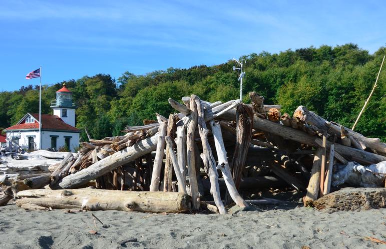 a beach hideout